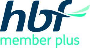 HBF Member plus logo